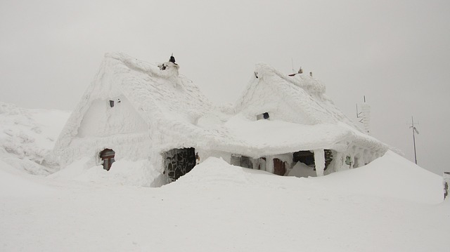 blog house in blizzard