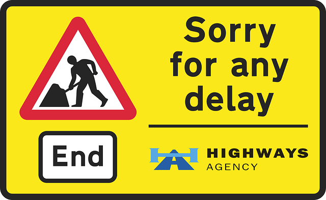 blog road sign re delay