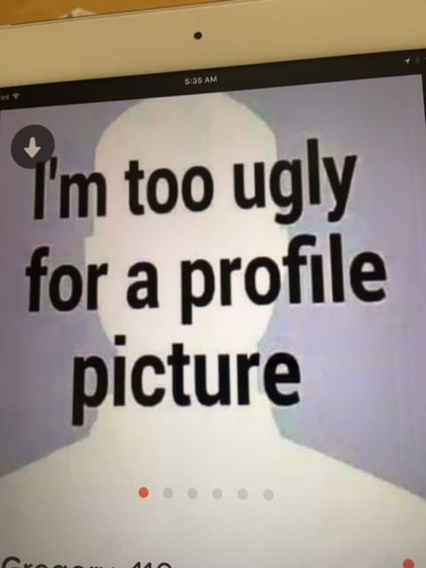 I'm too ugly for blog copy